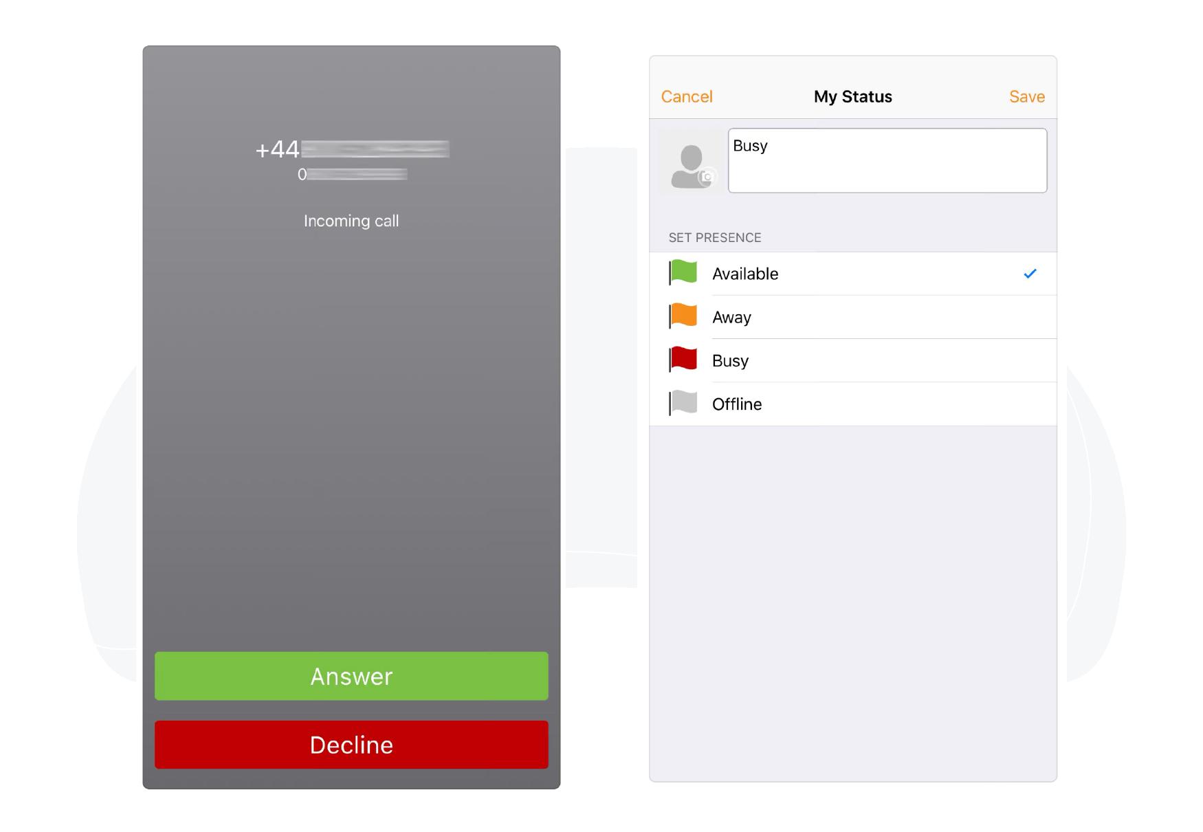 VoIPer Mobile Softphone App